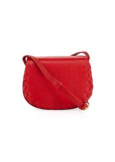 Cynthia Rowley Madison Small Whipstitch Saddle Bag