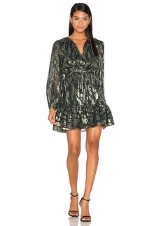 Cynthia Rowley Metallic Boho Dress