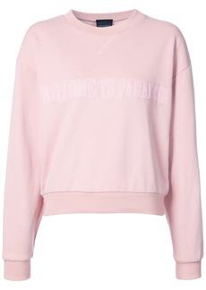 Cynthia Rowley Paradise crewneck sweatshirt - Pink & Purple