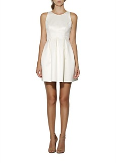 Cynthia Rowley Pleated Fit-and-Flare Dress