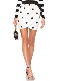 Cynthia Rowley Polka Dot Tulip Skirt