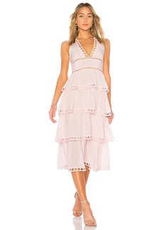 Cynthia Rowley Postcard Midi Dress