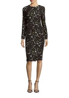 Cynthia Rowley Prairie Floral Print Midi Dress