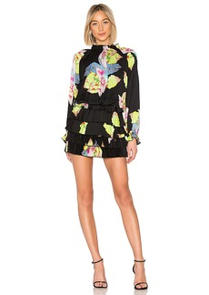 Cynthia Rowley Ruffle Mini Dress