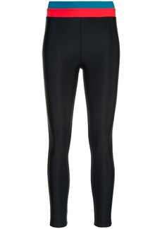 Cynthia Rowley Shock Wave surf leggings - Black