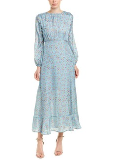Cynthia Rowley Silk-Blend Maxi Dress