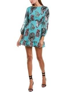 Cynthia Rowley Silk-Blend Shift Dress