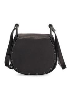 Cynthia Rowley Tabitha Ball-Trim Leather Crossbody Bag