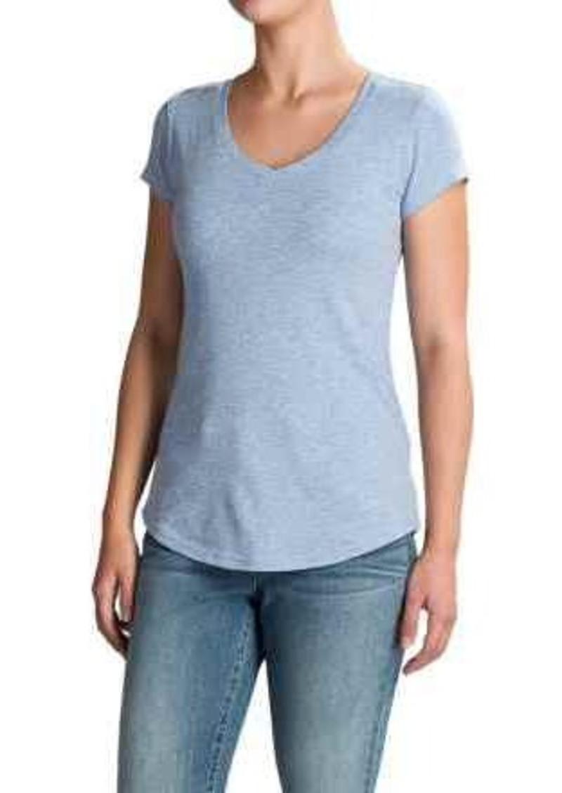 efdd46851143 Cynthia Rowley Cynthia Rowley V-Neck T-Shirt - Pima Cotton-Modal ...