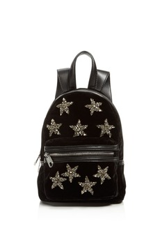 Cynthia Rowley Velvet Mini Backpack