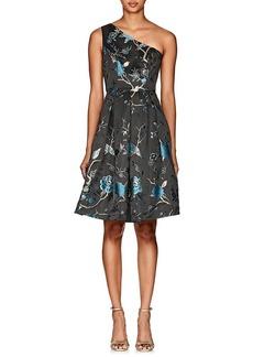 aeff1fd0716 Cynthia Rowley Women s Bird   Floral Brocade One-Shoulder Dress