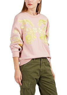 Cynthia Rowley Women's Bleecker Embroidered French Terry Sweatshirt