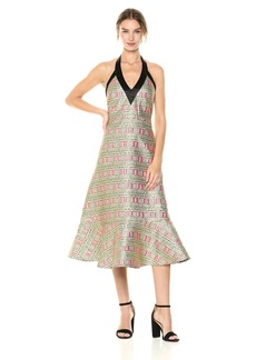 Cynthia Rowley Women's Bonfire Brocade Dress
