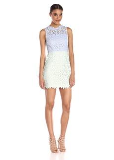 Cynthia Rowley Women's Color Block Mini Dress