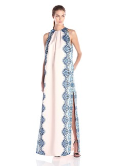 Cynthia Rowley Women's Column Dress with Pleats