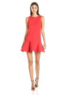 Cynthia Rowley Women's Drop Waist Crepe Dress