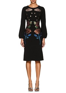 Cynthia Rowley Women's Floral-Appliquéd Dress