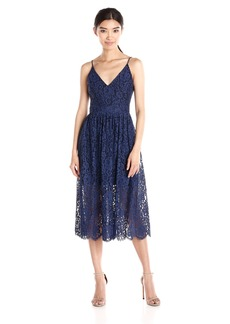 Cynthia Rowley Women's Floral Lace Mid Length Dress
