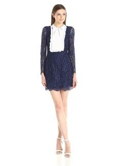 Cynthia Rowley Women's Floral Lace Mini Dress