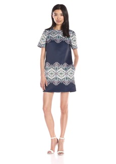 Cynthia Rowley Women's Geo-Printed Shift Dress
