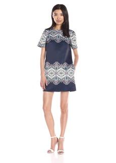 Cynthia Rowley Women's Geo-Printed Shift Dress