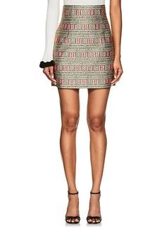 Cynthia Rowley Women's Geometric & Rope Brocade Miniskirt
