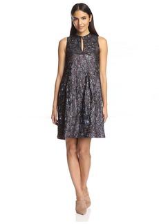 Cynthia Rowley Women's Metallic Jacquard Dress   US