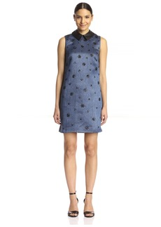 Cynthia Rowley Women's Metallic Shift Dress