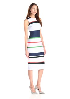 Cynthia Rowley Women's Midi Crepe Dress