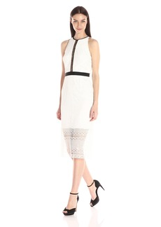 Cynthia Rowley Women's Midi High-Neck Dress