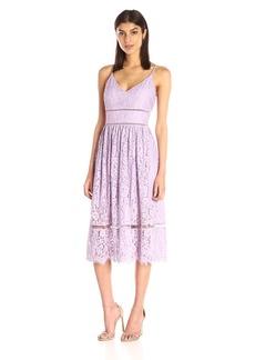 Cynthia Rowley Women's Midi Lace Dress