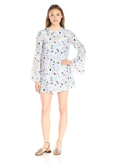 Cynthia Rowley Women's Mini Dress with Long-Sleeves