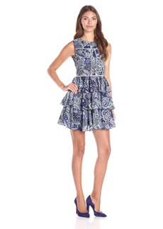 Cynthia Rowley Women's Mini Printed Dress