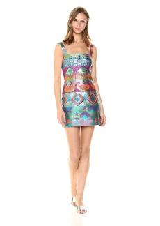 Cynthia Rowley Women's Monte Carlo Brocade Dress