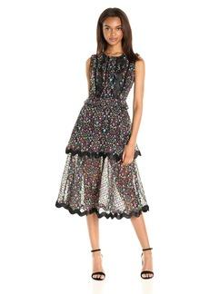 Cynthia Rowley Women's Night Sky Floral Dress