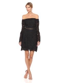 Cynthia Rowley Women's Off Shoulder Lace Dress