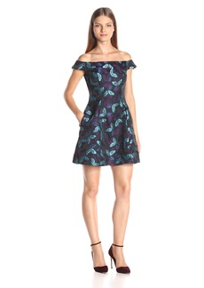 Cynthia Rowley Women's Off the Shoulder Bombe Dress