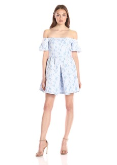 Cynthia Rowley Women's Off The Shoulder Short Dress