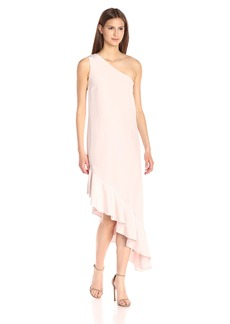 Cynthia Rowley Women's One-Shoulder Midi Dress
