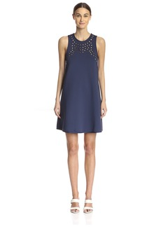Cynthia Rowley Women's Perforated a-Line Dress