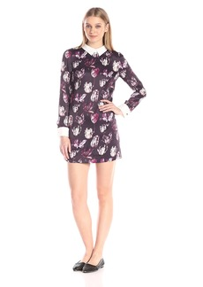 Cynthia Rowley Women's Printed Crepe Dress
