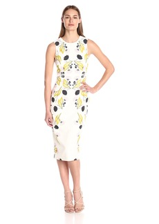 Cynthia Rowley Women's Printed Fitted Dress