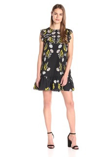 Cynthia Rowley Women's Printed Oversized Dress
