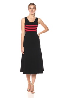 Cynthia Rowley Women's Riviera Striped Jersey Dress  XS