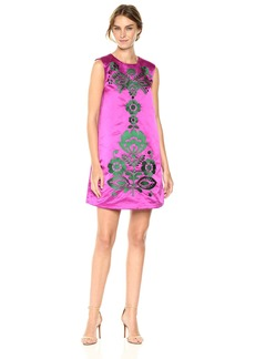 Cynthia Rowley Women's Satin A-line Shift Dress