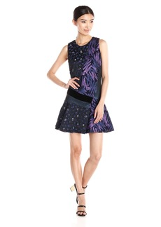 Cynthia Rowley Women's Short Flounce Dress