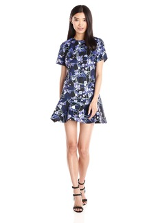 Cynthia Rowley Women's Short Sleeve Boxy Dress