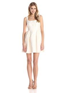 Cynthia Rowley Women's Short Textured Jacquared Dress