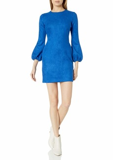 Cynthia Rowley Women's Suede Bell Sleeve Dress