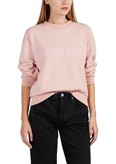 """Cynthia Rowley Women's """"Welcome To Paradise"""" French Terry Sweatshirt"""